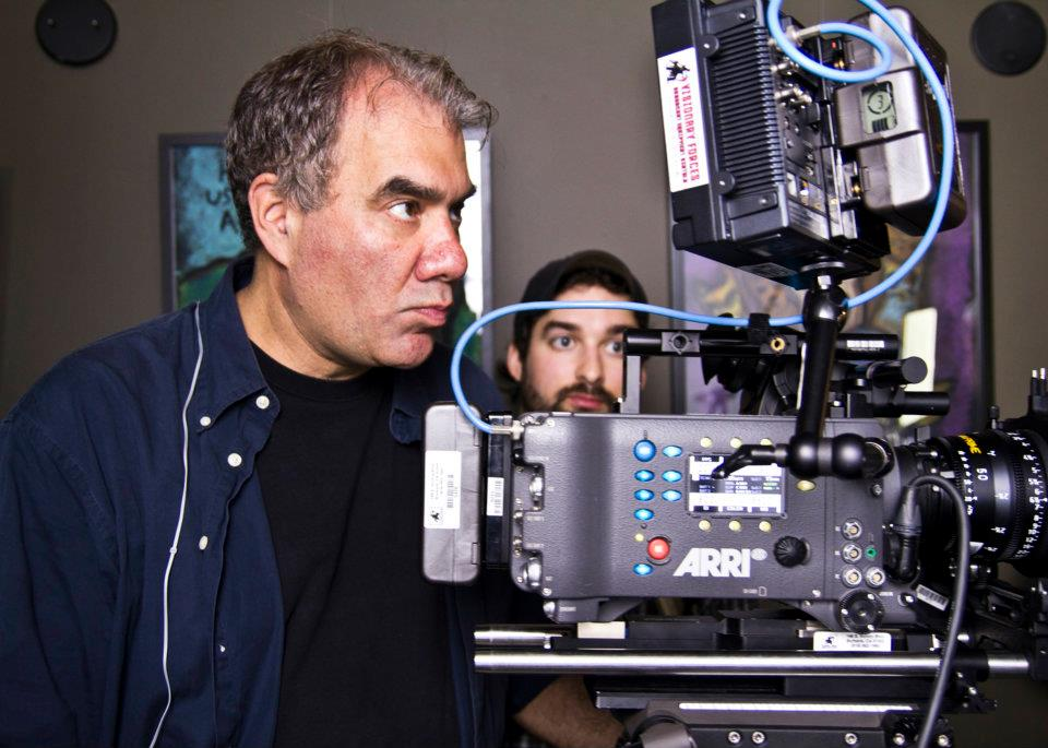 Mitch Levine directing Molly - The Movie.